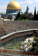 The Mughrabi Bridge to Nowhere