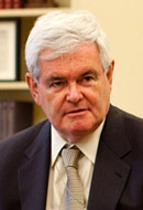 Newt and the Palestinians